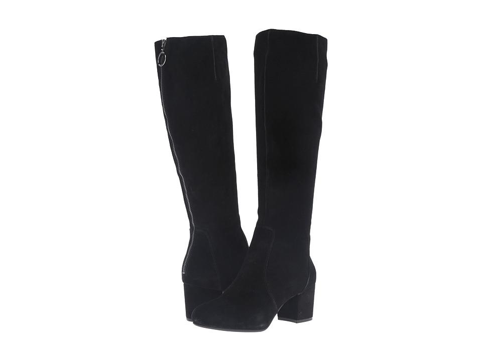 Steve Madden - Haydun (Black Suede) Women's Boots