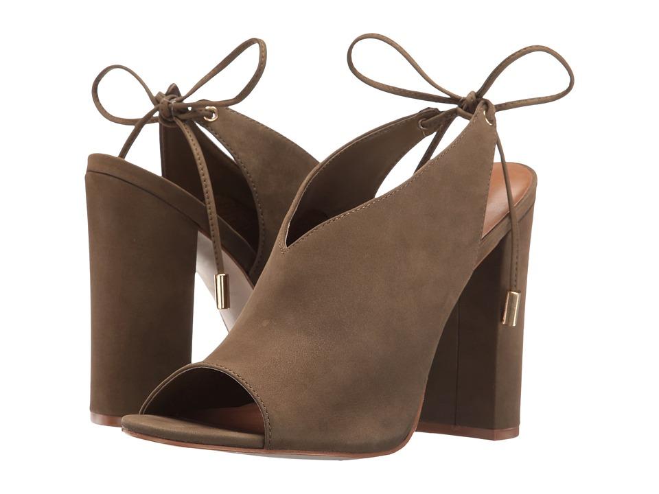 Steve Madden - Saffron (Olive Nubuck) High Heels