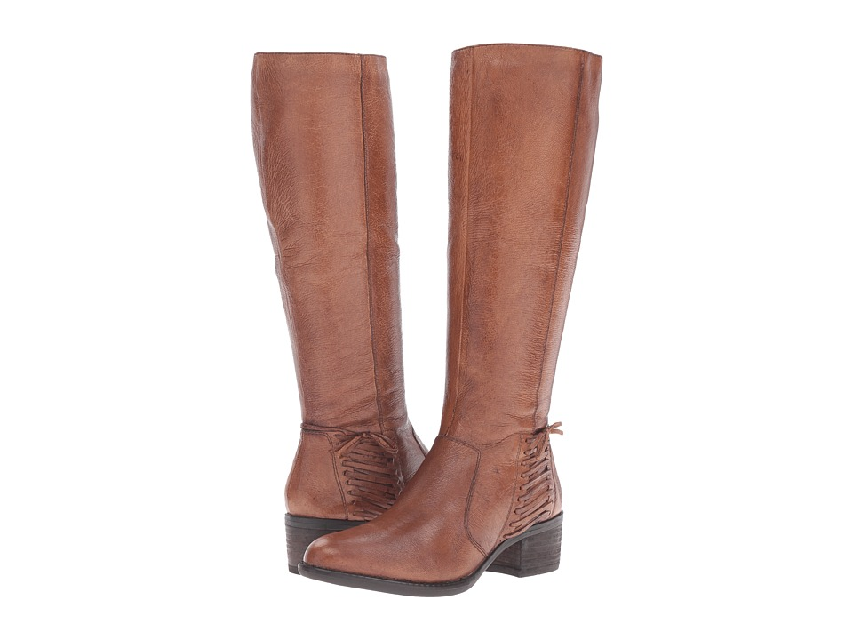 Steve Madden Lonnny (Cognac Leather) Women