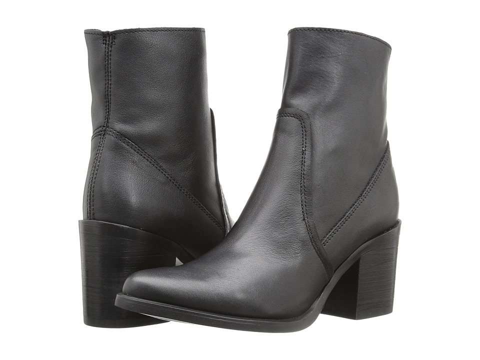 Steve Madden - Peaches (Black Leather) Women's Boots