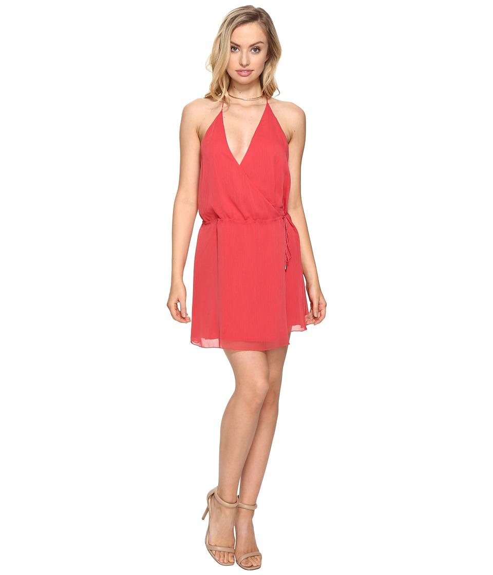 The Jetset Diaries - Shale Mini Dress (Papaya) Women's Dress