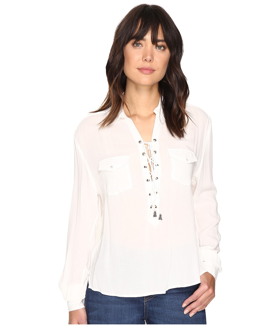 The Jetset Diaries - Cruise Shirt (Ivory) Women's Clothing