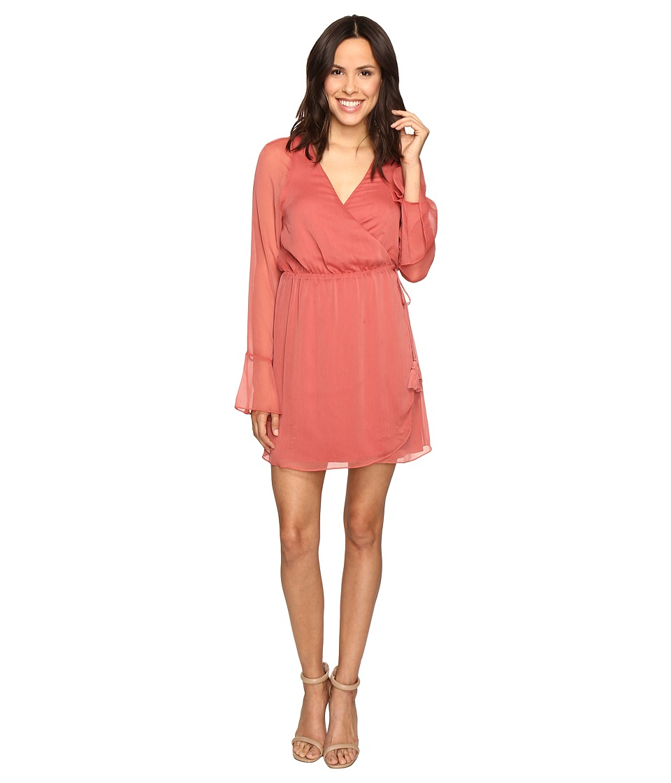 The Jetset Diaries - Aurea Mini Dress (Moss Coral) Women's Dress