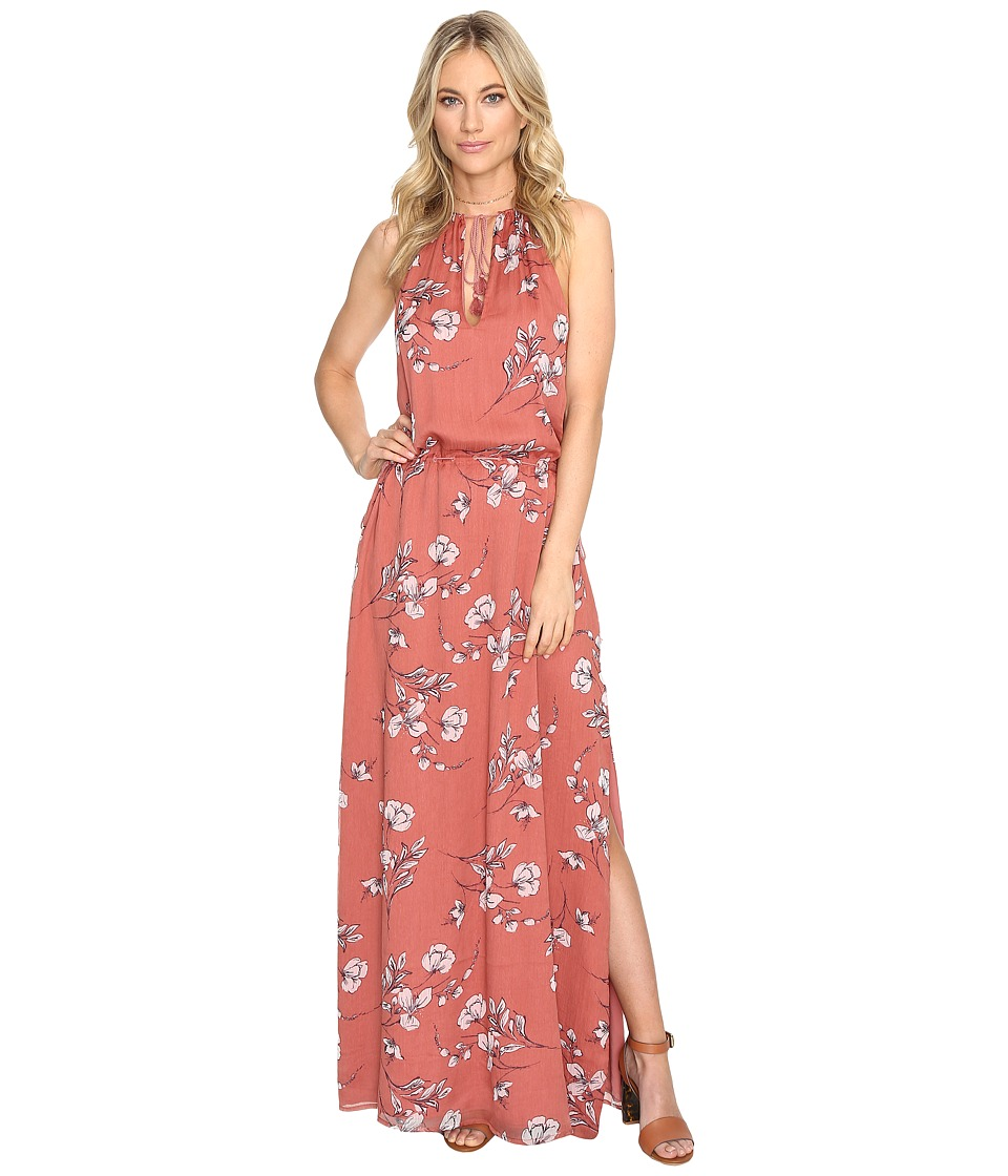 The Jetset Diaries - Oasis Floral Maxi Dress (Floral Print) Women's Dress