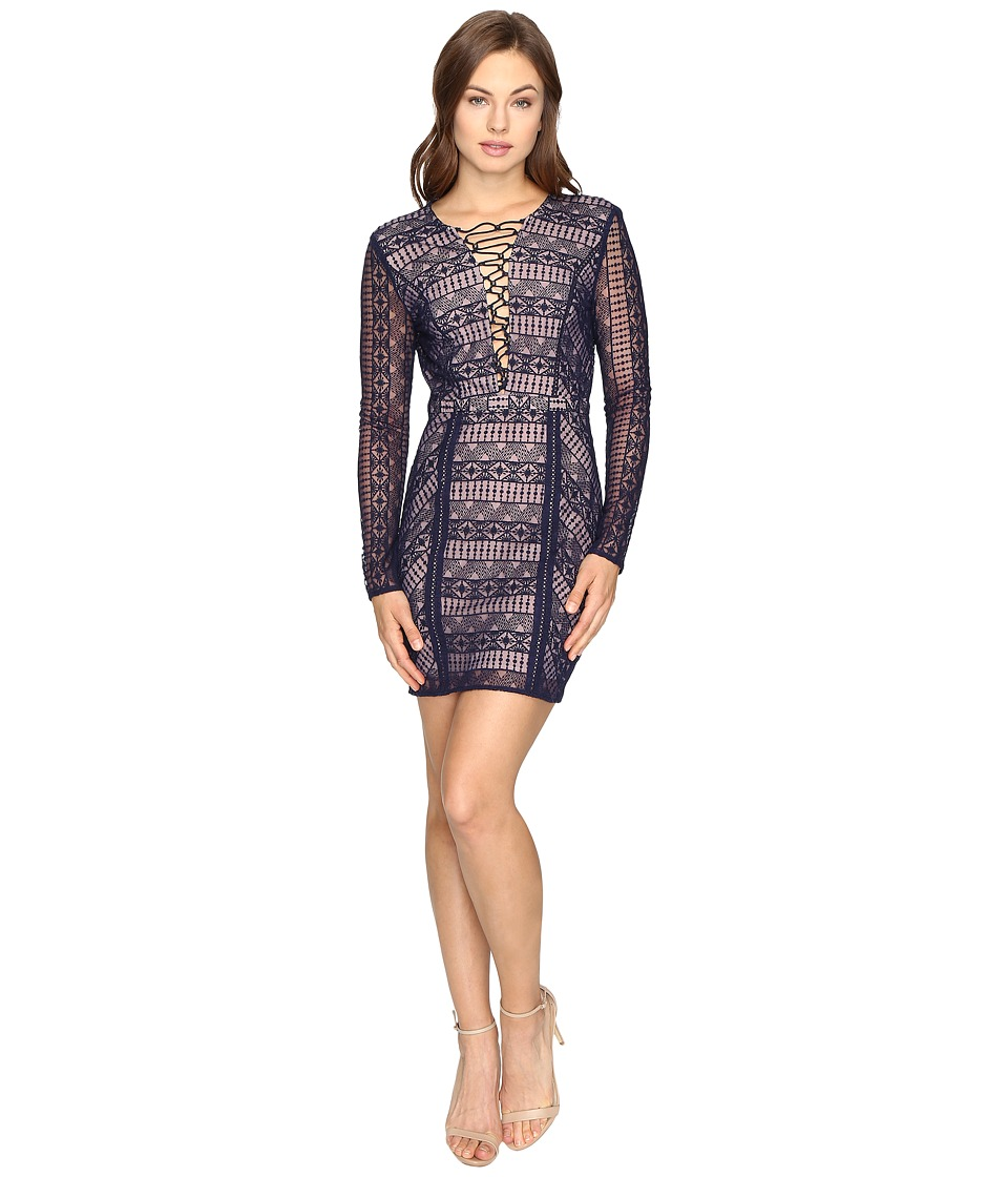 The Jetset Diaries - Eden Mini Dress (Midnight) Women's Dress