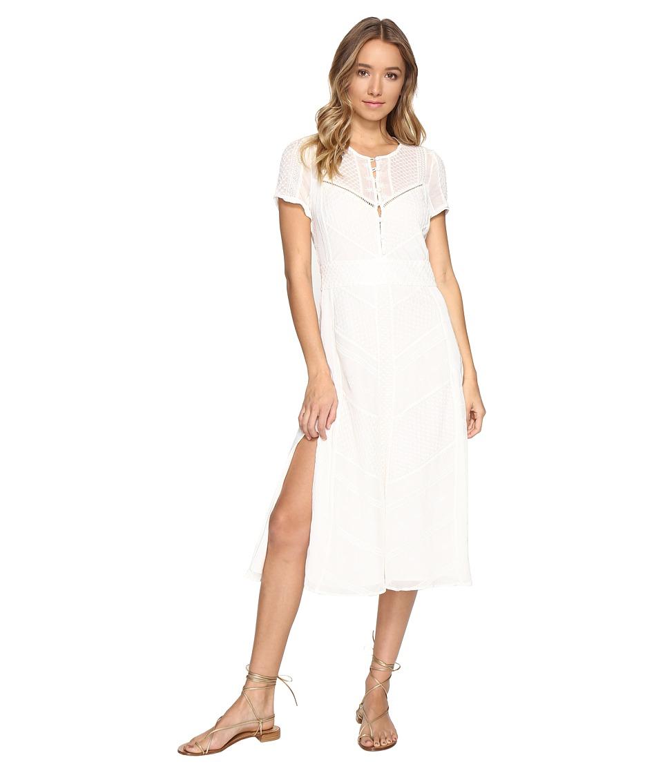 The Jetset Diaries - Getaway Midi Dress (Ivory) Women's Dress