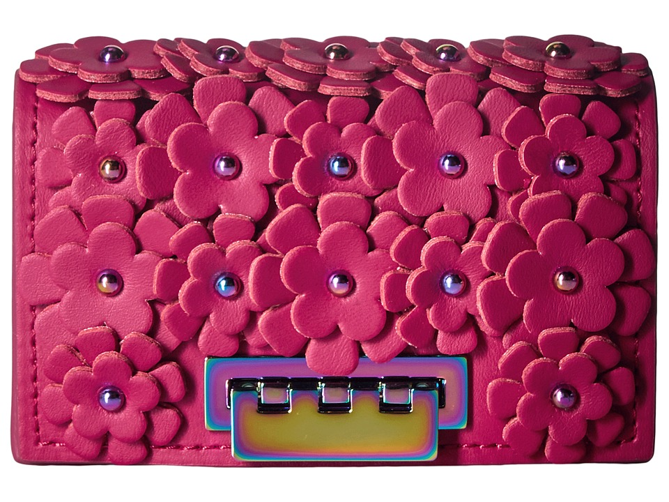 ZAC Zac Posen - Earthette Card Case (Magenta) Clutch Handbags