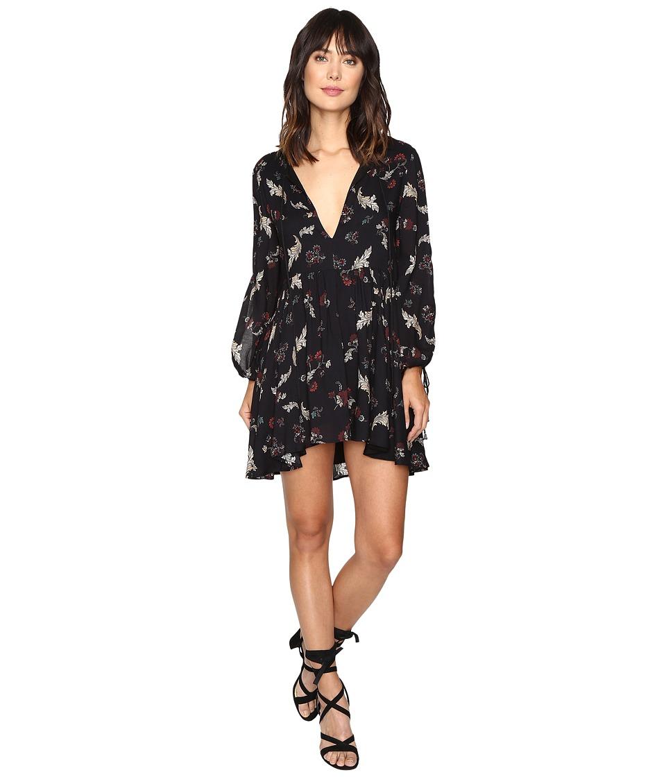 The Jetset Diaries - Juniper Mini Dress (Floral Print) Women's Dress