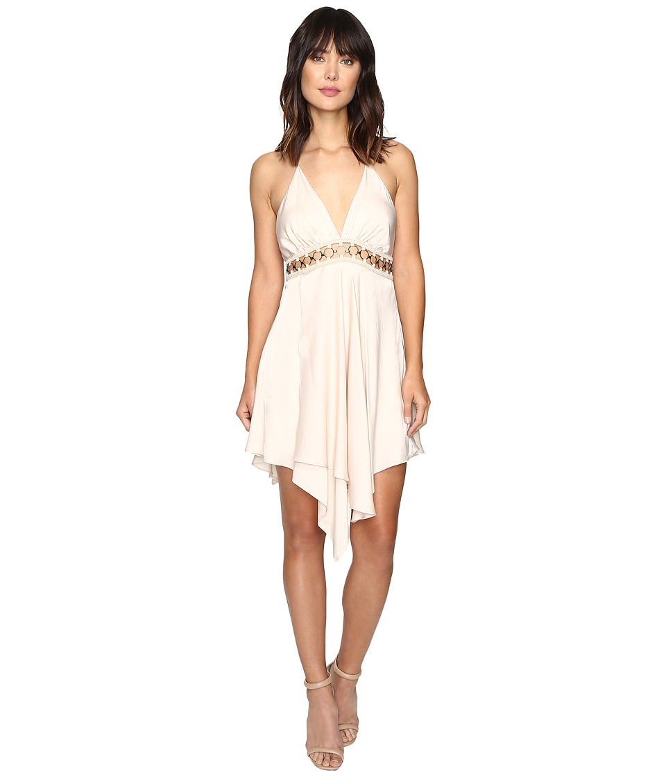 The Jetset Diaries - Vespero Mini Dress (Champagne) Women's Dress