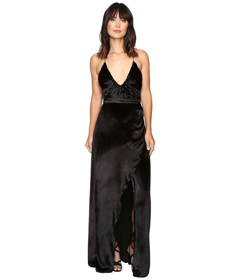The Jetset Diaries - Saskia Maxi Dress (Black) Women's Dress