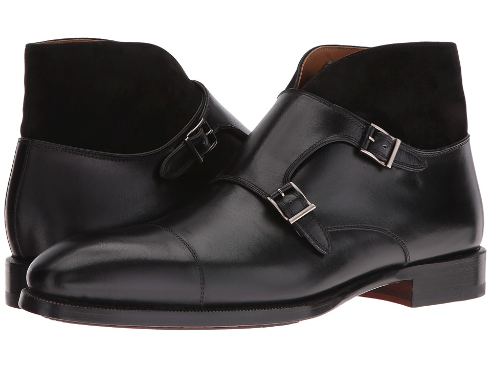 Magnanni - Valerio (Black) Men's Monkstrap Shoes