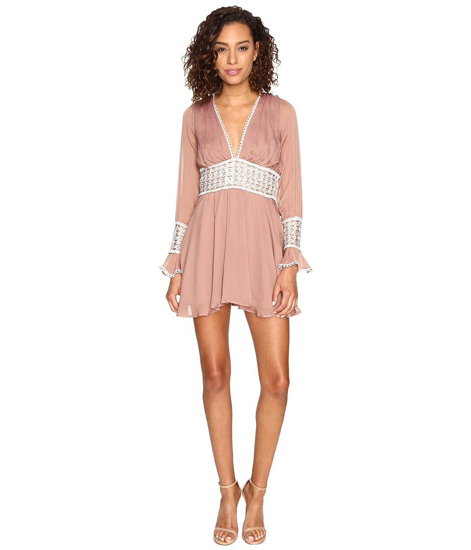 For Love and Lemons - Celine Mini Dress (Lavender) Women's Dress