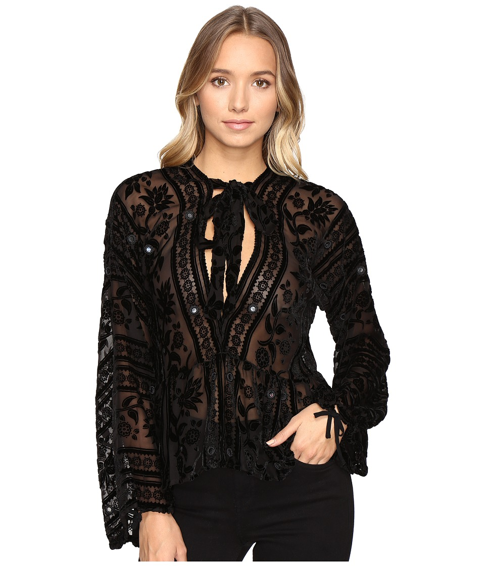For Love and Lemons - J'Adore Top (Noir) Women's Dress