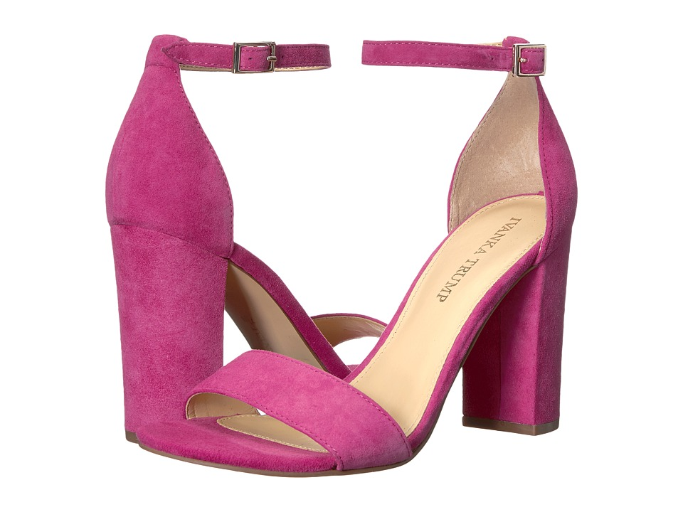 Ivanka Trump - Klover (Medium Pink Suede) High Heels