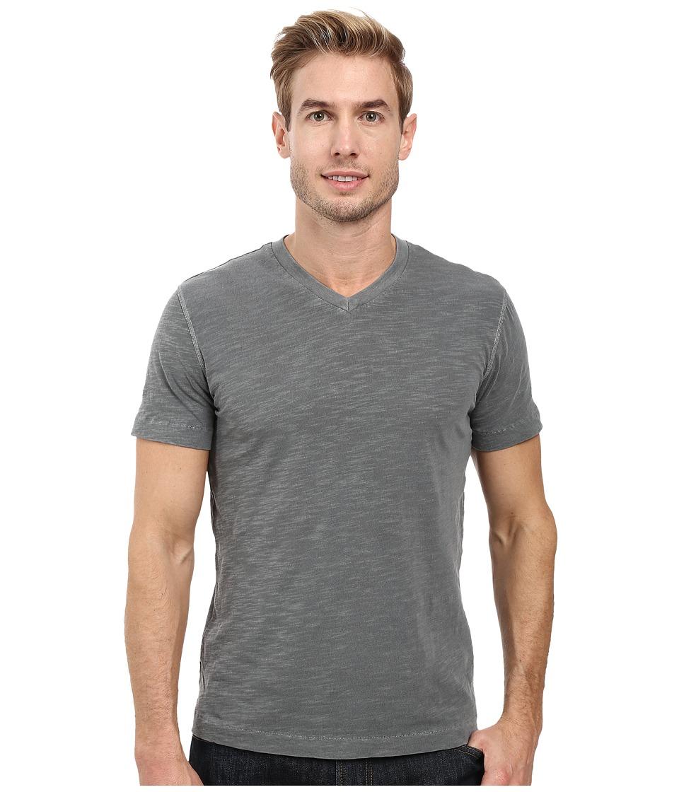 Mod-o-doc - El Porto Short Sleeve V-Neck Tee (Stormy) Men's T Shirt