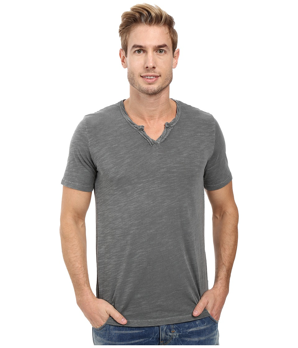 Mod-o-doc - Topanga Short Sleeve Notch V-Neck Tee (Stormy) Men's T Shirt