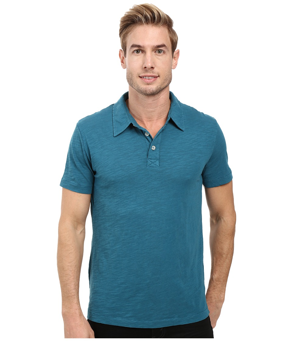 Mod-o-doc - Zuma Short Sleeve Polo (Baltic) Men's Clothing