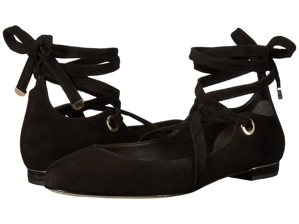 Diane von Furstenberg - Dakar (Black Kid Suede) Women's Shoes