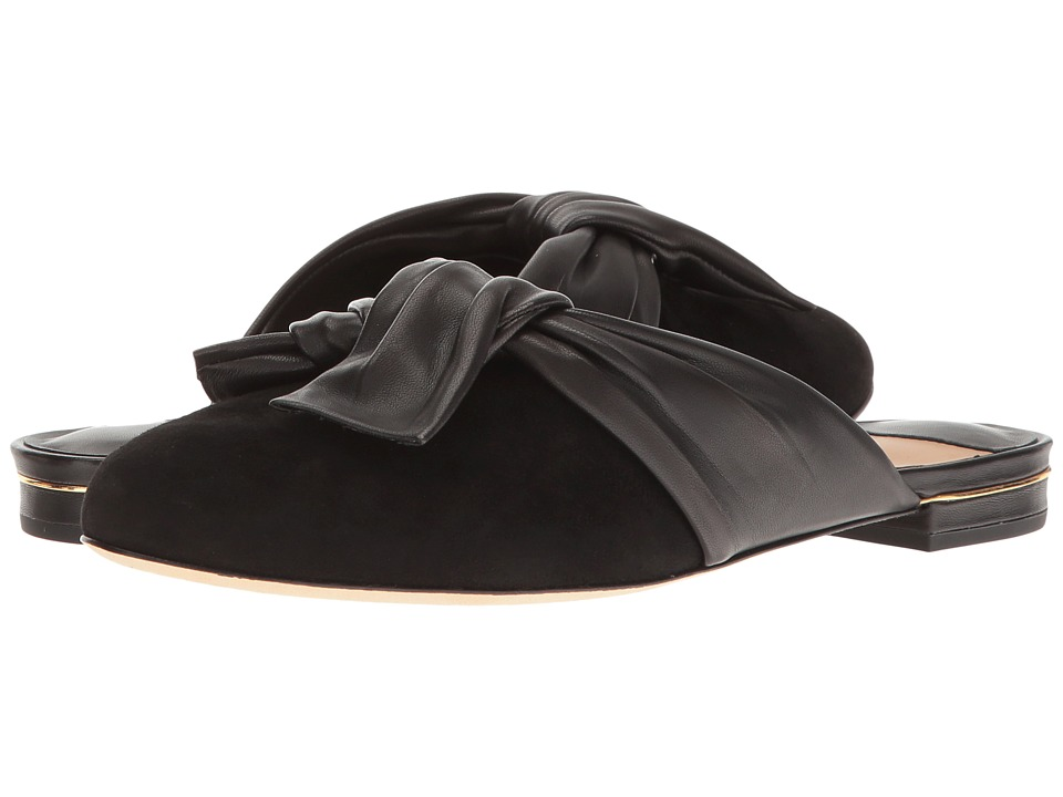 Diane von Furstenberg - Doha (Black Kid Suede) Women's Shoes