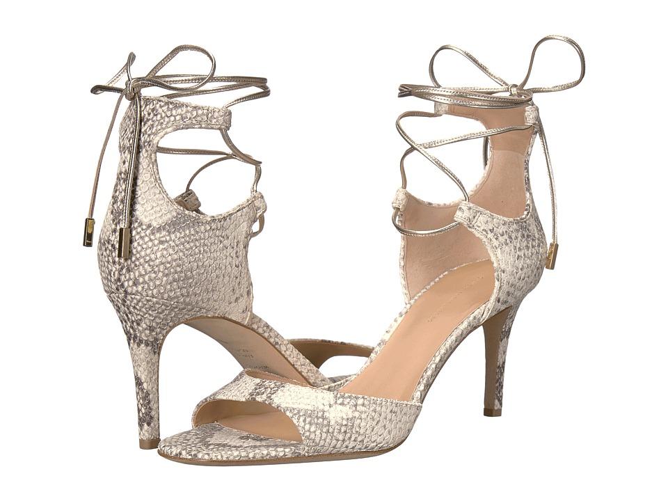 Diane von Furstenberg - Rimini (Natural Metallic Python Print) Women's Shoes