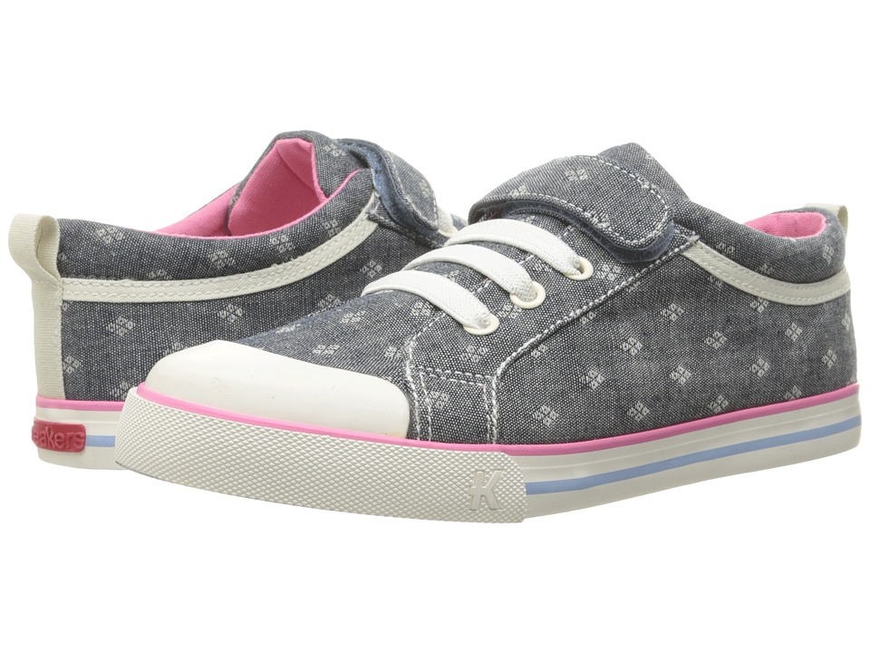 See Kai Run Kids Kristin (Toddler/Little Kid) (Chambray) Girls Shoes