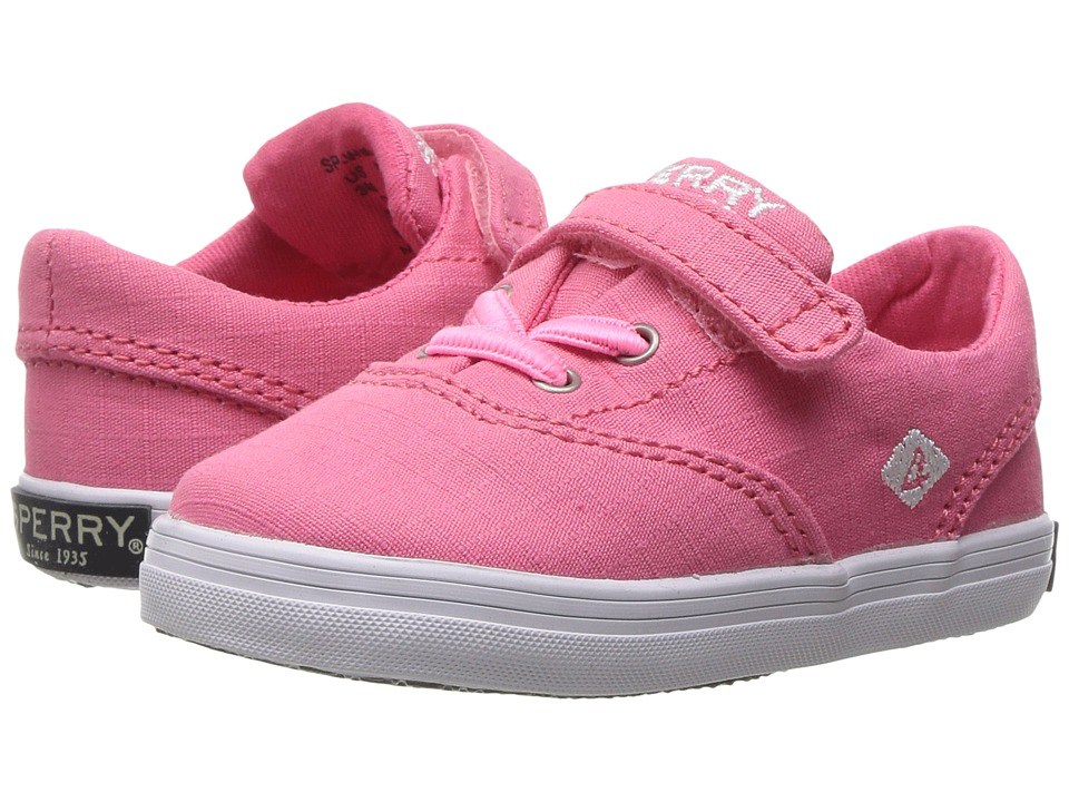 Sperry Kids - Wahoo Crib (Infant/Toddler) (Floro Coral) Girls Shoes