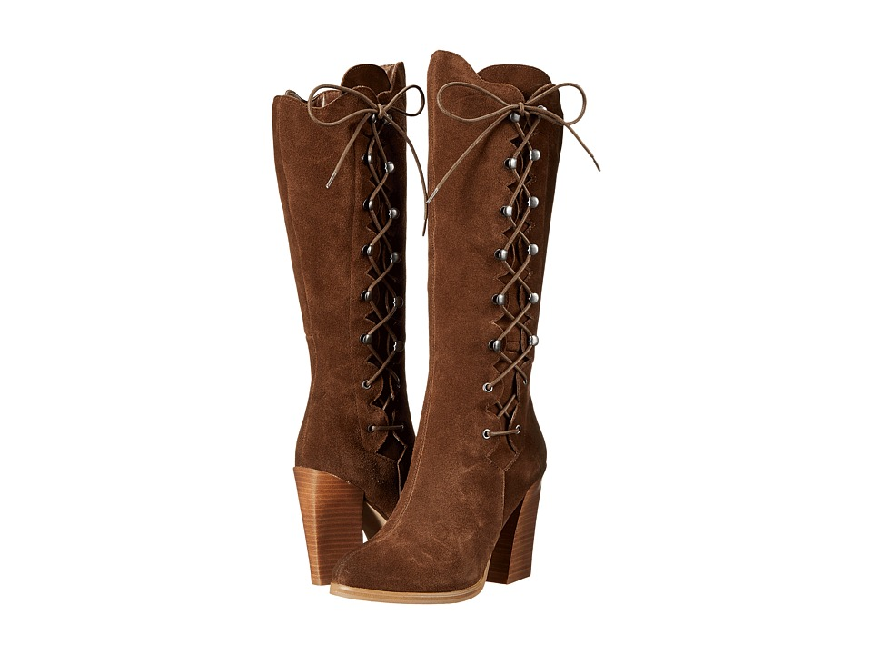 Sbicca - Dante (Brown) Women's Lace-up Boots