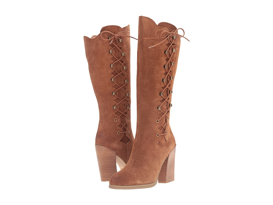 Sbicca - Dante (Cognac) Women's Lace-up Boots
