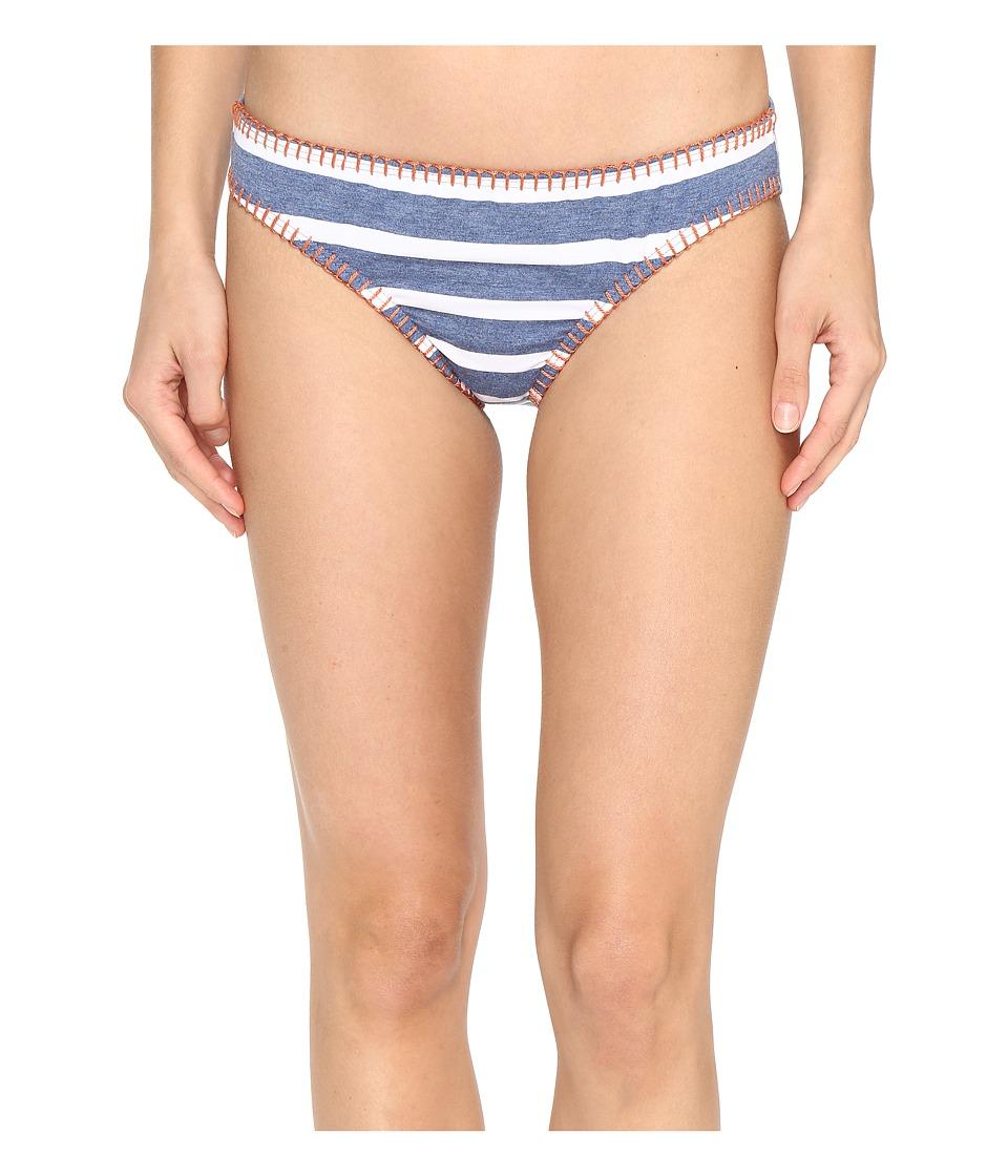 Splendid - Chambray Cottage Retro Pants (Blue) Women's Swimwear