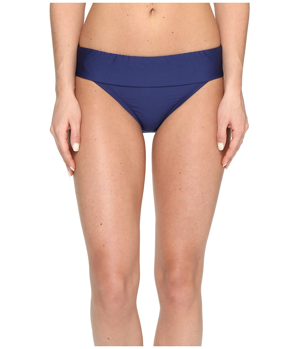 Splendid - Stitch Solid Banded Pants (Navy) Women's Swimwear