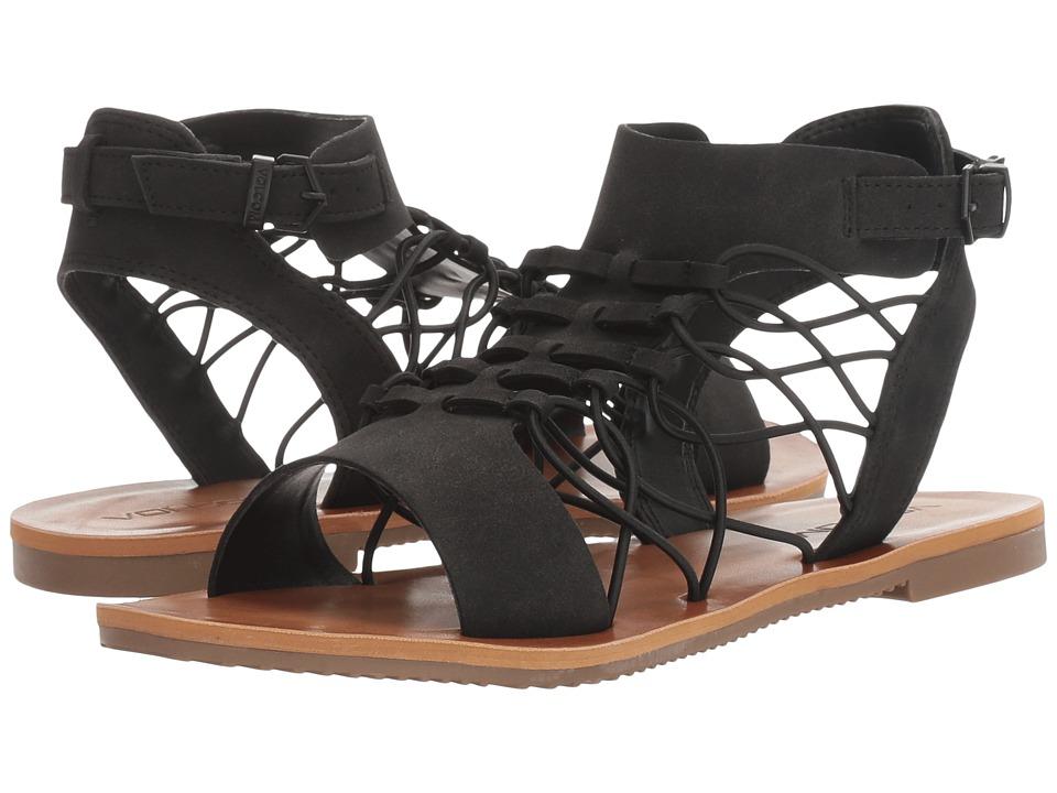 Volcom - Caged Bird (Black) Women's Sandals