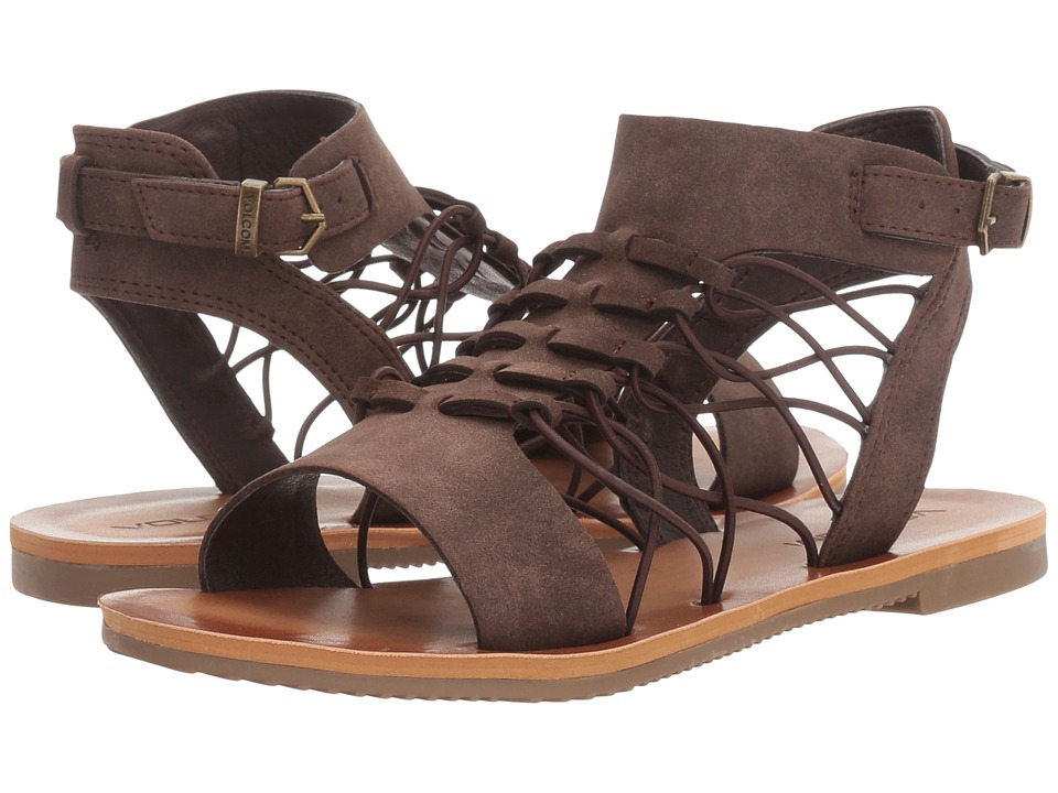 Volcom - Caged Bird (Brown) Women's Sandals