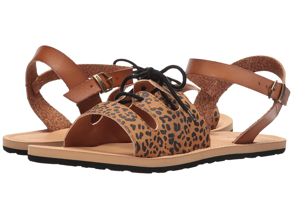 Volcom - Lacey (Cheetah) Women's Sandals