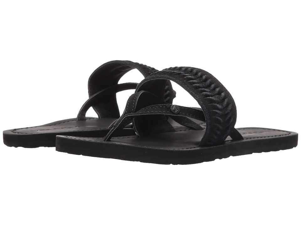 Volcom - Costa (Black) Women's Sandals