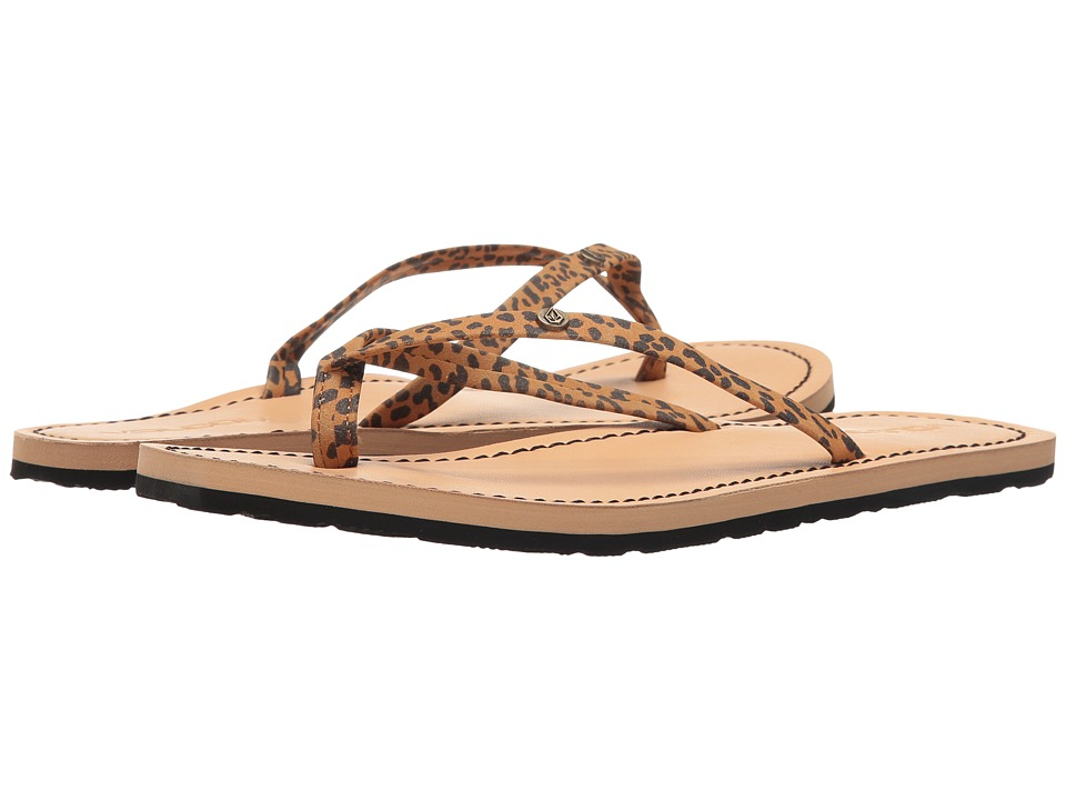 Volcom - Lagos (Cheetah) Women's Sandals