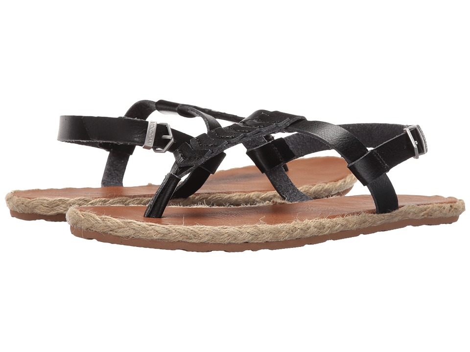 Volcom - Trails (Black) Women's Sandals