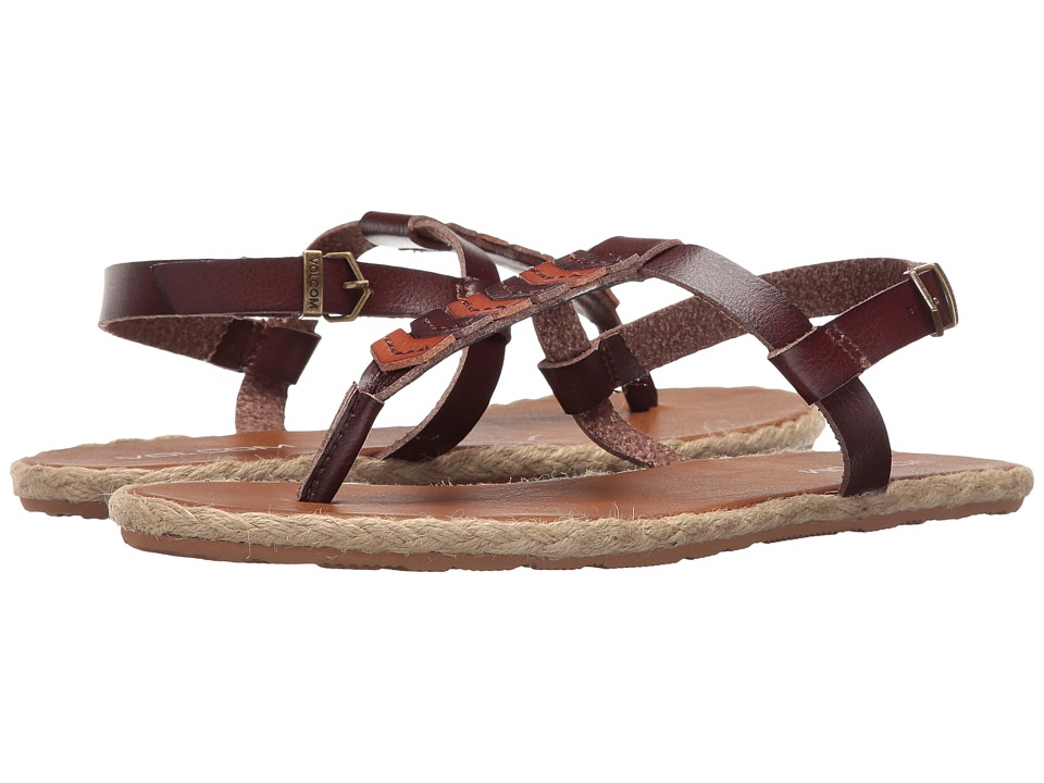 Volcom - Trails (Brown) Women's Sandals