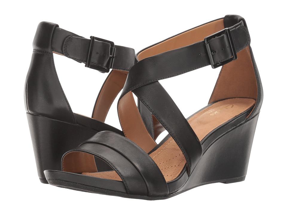 Clarks Acina Newport (Black Leather) Women
