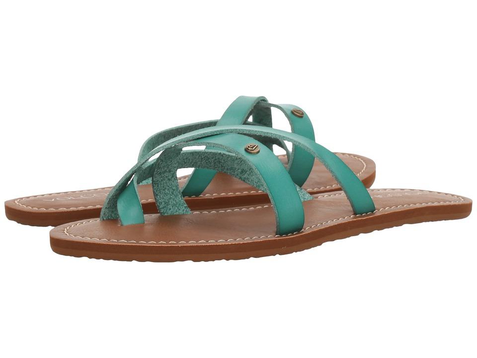 Volcom - Ramble Sandal (Green Spray) Women's Sandals