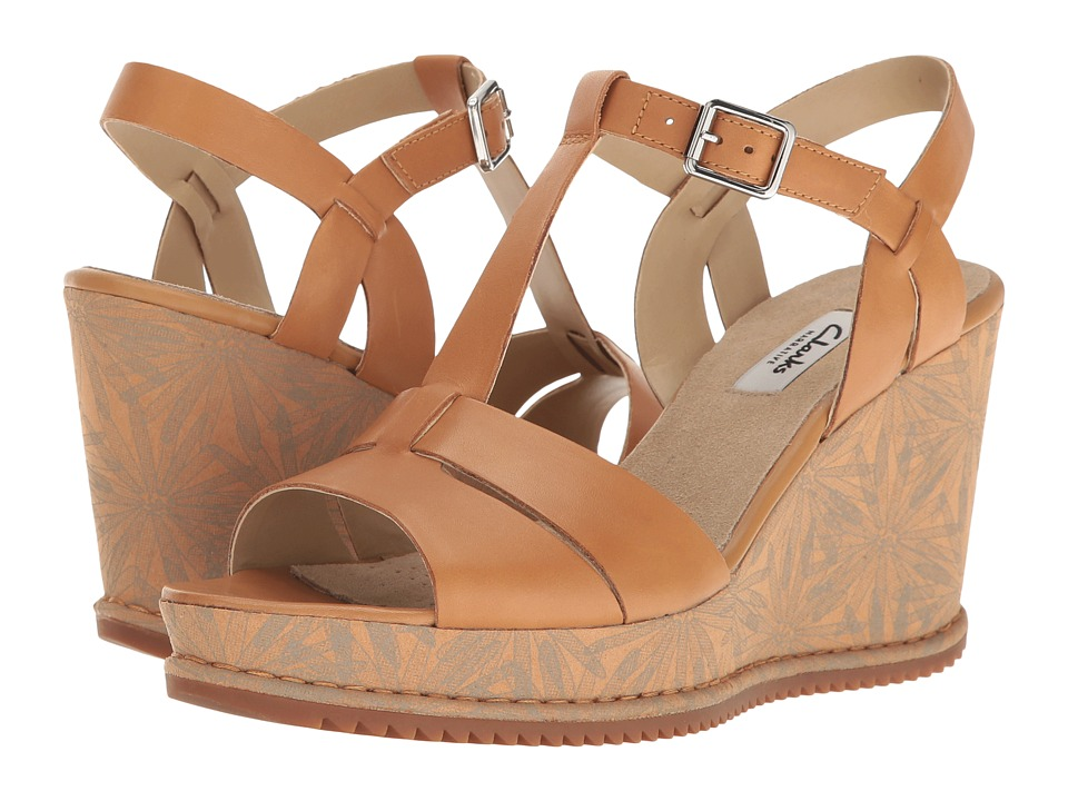 Clarks - Adesha River (Tan Leather) Women's Sandals