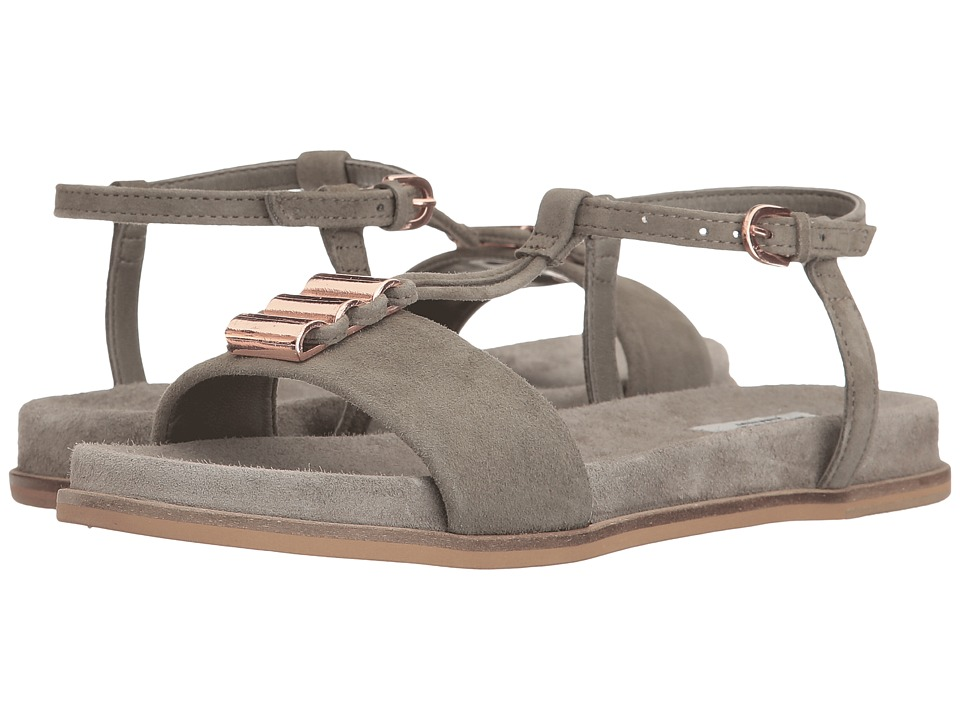 Clarks - Agean Cool (Sage Suede) Women's Sandals