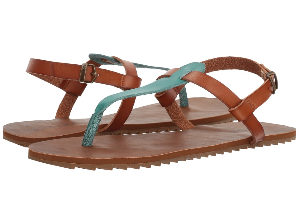 Volcom - Maya Sandal (Green Spray) Women's Sandals