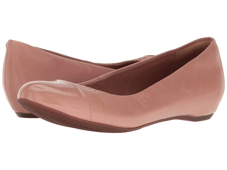 Clarks - Alitay Susan (Dusty Pink) Women's Flat Shoes