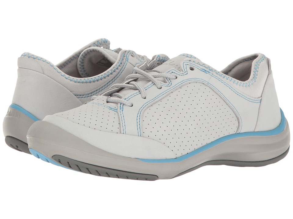 Clarks Asney Lace (Light Grey Nubuck) Women