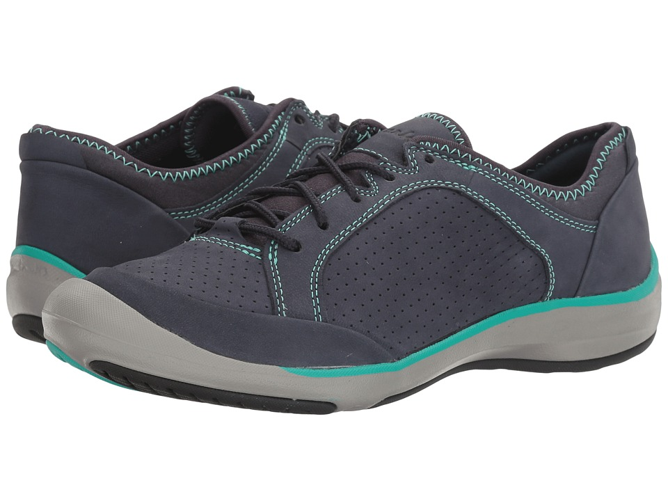 Clarks Asney Lace (Navy Nubuck) Women