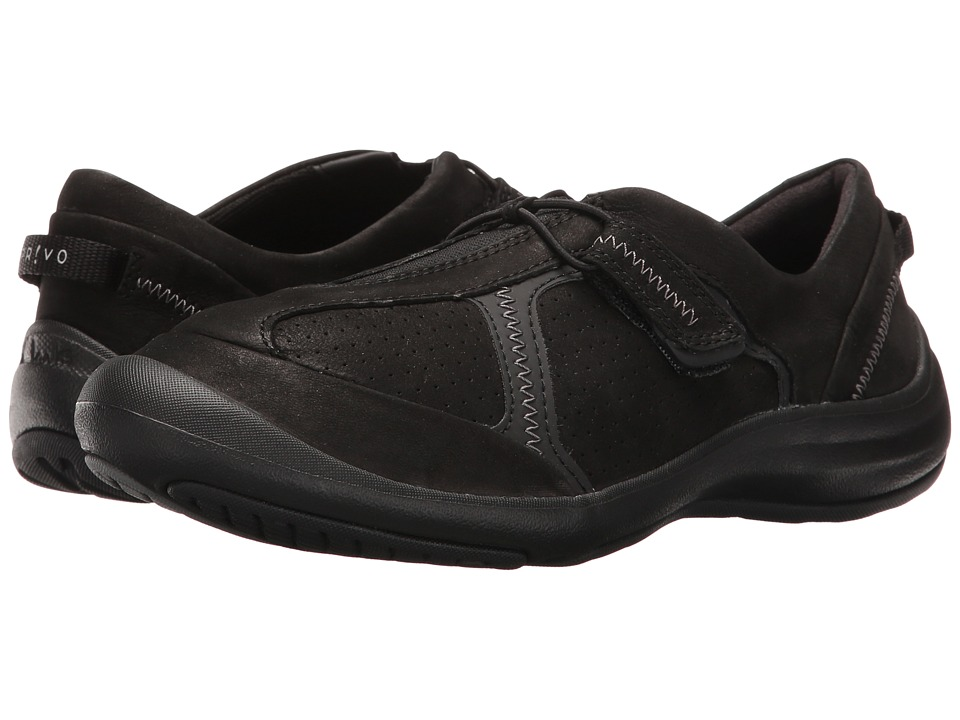 Clarks Asney Slip-On (Black Nubuck) Women