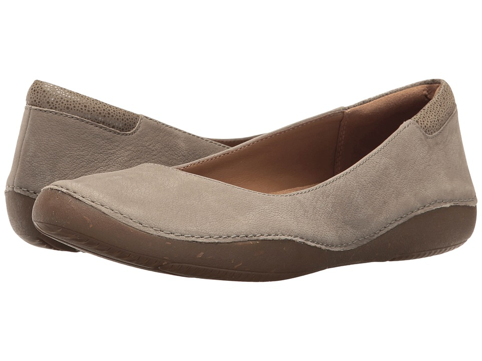 Clarks - Autumn Sun (Sage Nubuck) Women's Shoes