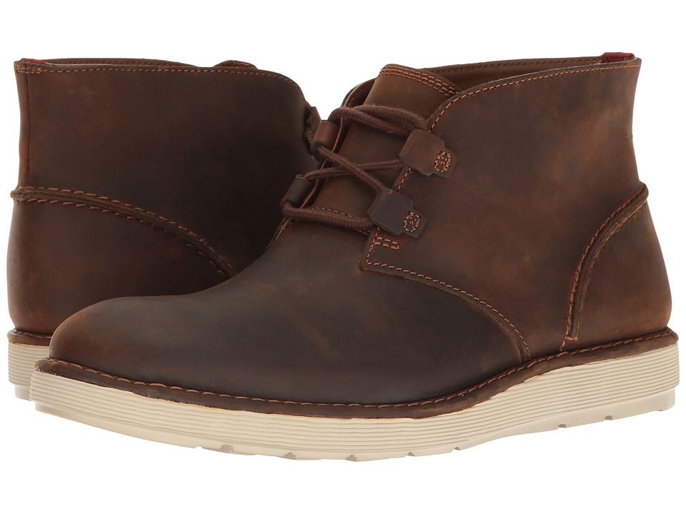 Clarks - Fayeman Hi (Beeswax) Men's Shoes
