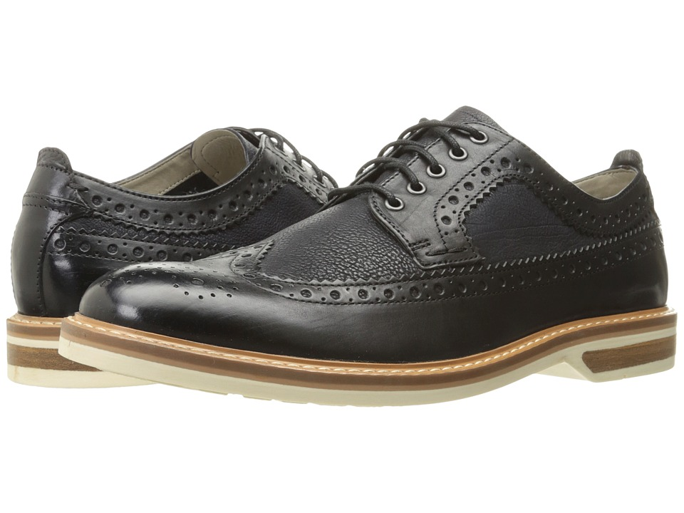 Clarks Pitney Limit (Black/Multi Leather) Men