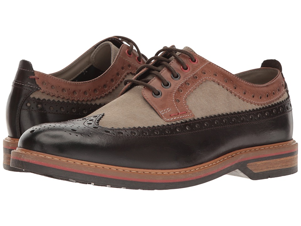 Clarks - Pitney Limit (Brown Combi Leather) Men's Shoes